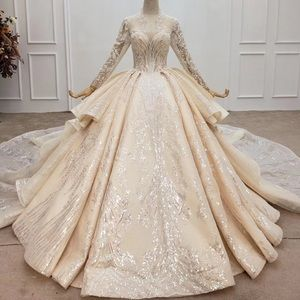 Crystal wedding dresses say yes to the dress